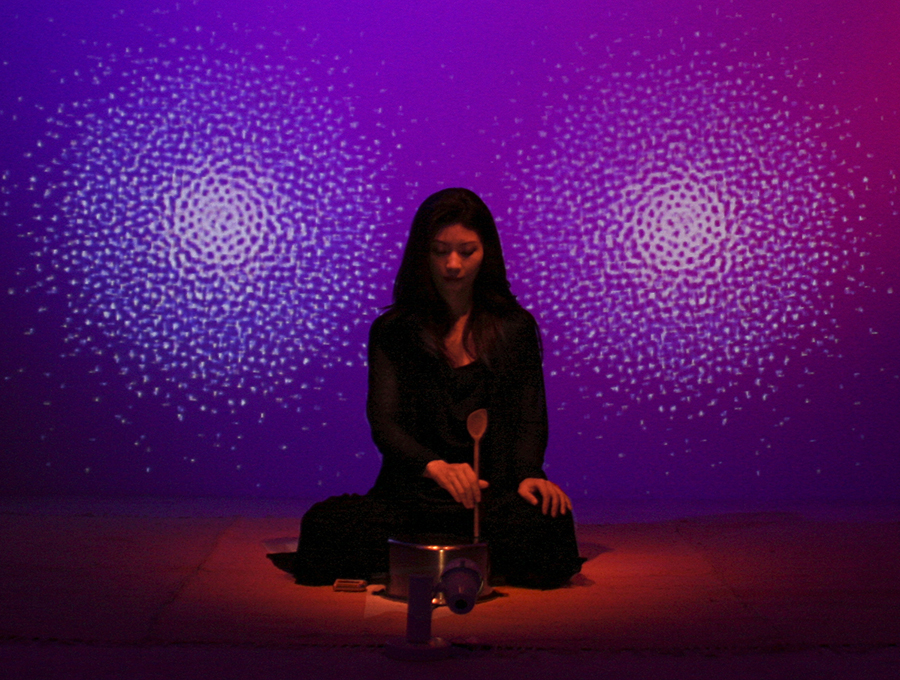 Rice : Composition in the style of La Monte Young's 1960,  perfo